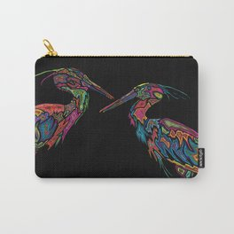 Blue Herons Carry-All Pouch