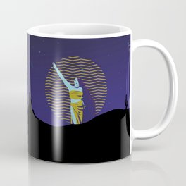 Stand up woman Coffee Mug