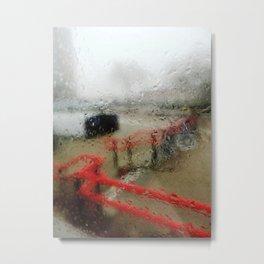 Rainy DayZ 30 Metal Print