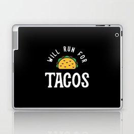 Will Run For Tacos Laptop & iPad Skin