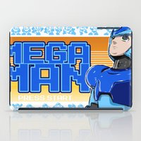 mega man iPad Cases featuring Mega Man by 117 Art
