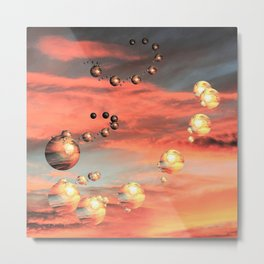 Planets Abound Metal Print