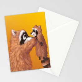 Raccoon Series: Lil' Pup Stationery Cards