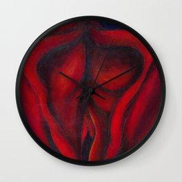Vulva Wall Clock