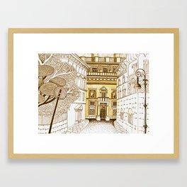 Rome Street Framed Art Print