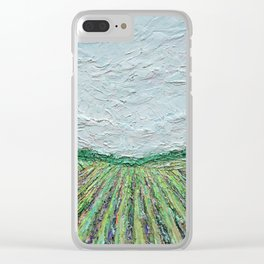 Wine Country Clear iPhone Case