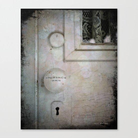 Open Every Door Canvas Print