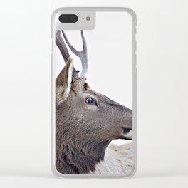 elk #society6 #decor #buyart Clear iPhone Case