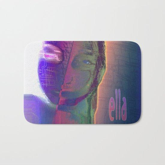 Ella - She / Portrait 1 / 15-02-17 Bath Mat