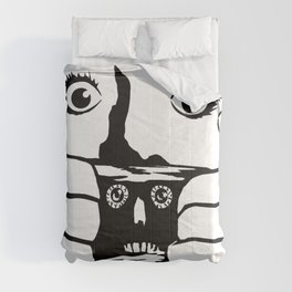 BRAINDEAD aka DEAD ALIVE Collectible Beth Bacon Design no. 3 Comforters