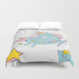 Be A Unicorn Duvet Cover