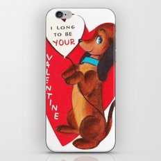 I Long to be Your Valentine iPhone & iPod Skin