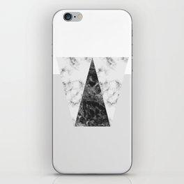 MARBLE - GREY iPhone Skin