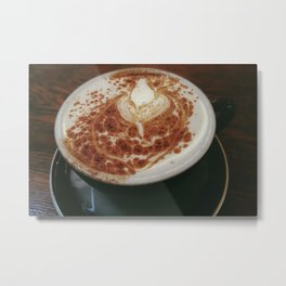 The Perfect Cup Metal Print