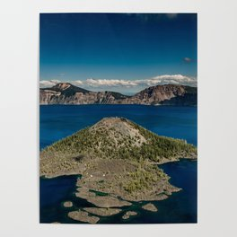 Crater Lake Love Poster