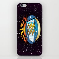 astrology iPhone & iPod Skins featuring Astrology, Aquarius by Karl-Heinz Lüpke