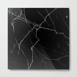 black marble I Metal Print