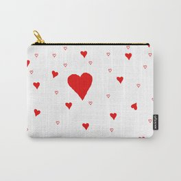 Hearts Carry-All Pouch