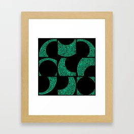 Emerald Solstice Framed Art Print