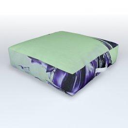 Purple alienscape Outdoor Floor Cushion