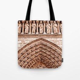 Notre Dame Mural Tote Bag