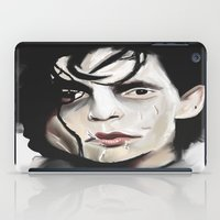 edward scissorhands iPad Cases featuring Edward Scissorhands by Catheriney