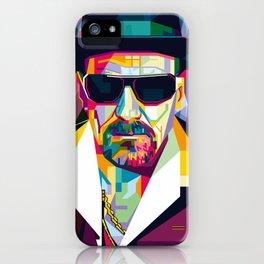 Pop Art London Vector Artist CONQR Ultimate Gangster iPhone Case