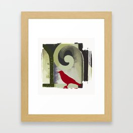 Music of Crows Framed Art Print