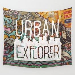URBAN EXPLORER Wall Tapestry