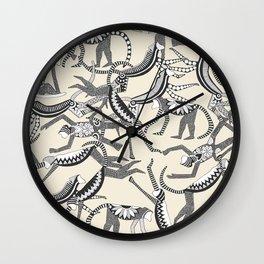 monkey light Wall Clock