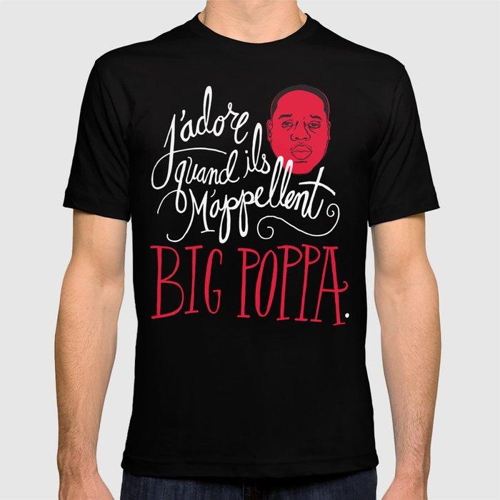 French Poppa T Shirt By Chrispiascik Society6