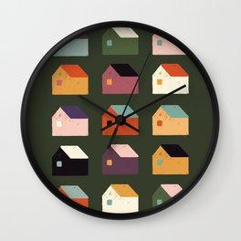 BAIRRO COLORIDO Wall Clock