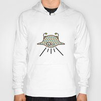 ufo Hoodies featuring UFO by Joe Pansa