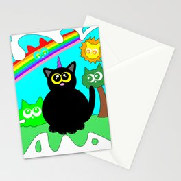 Kitty world! Stationery Cards