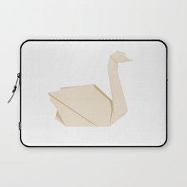 Origami Swan Laptop Sleeve