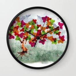 Tree Story Wall Clock