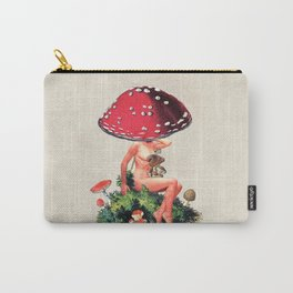 Shroom Girl Carry-All Pouch