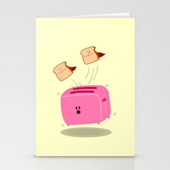 Toast! Stationery Cards