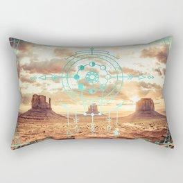 Mandala Desert Dawn Rectangular Pillow