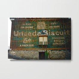 UNeedABiscuit Metal Print