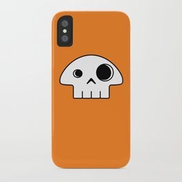 Mushroom Skull iPhone Case