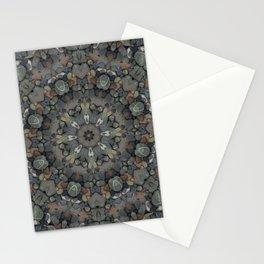 Stone Mandala Stationery Cards