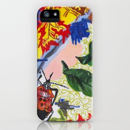 Red Beetle iPhone Case