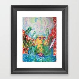 Vapid Response Framed Art Print