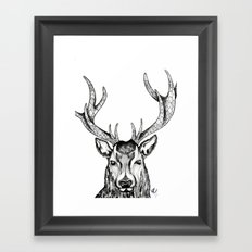Ole Dear! Framed Art Print
