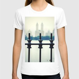 NYC Central Park Two Towers, New York City, Manhattan T-shirt