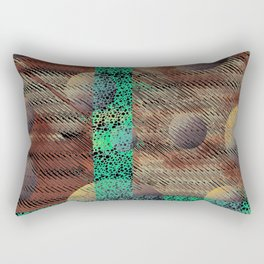 Serene Solidarity Rectangular Pillow