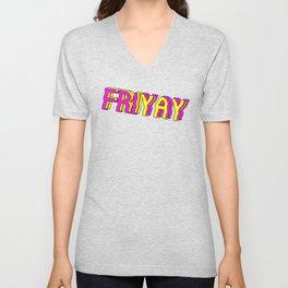 FriYay Neonpard Unisex V-Neck