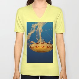 Medusa Jelly Unisex V-Neck