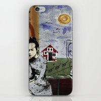 poland iPhone & iPod Skins featuring My summer in Poland by JulieAaland